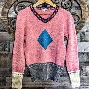 Free Shipping! Italian Soft Academia Sweater EUC